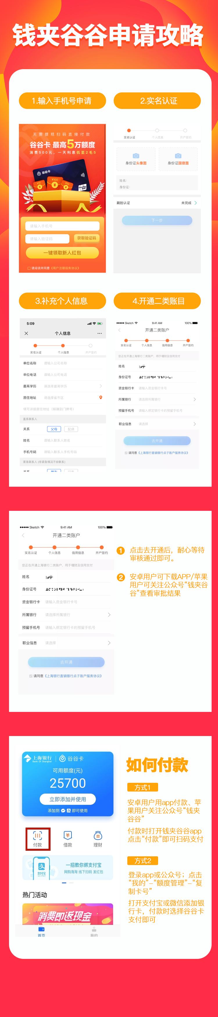 上海银行钱夹谷谷卡申请攻略  上海银行 钱夹谷谷 谷谷卡 第2张